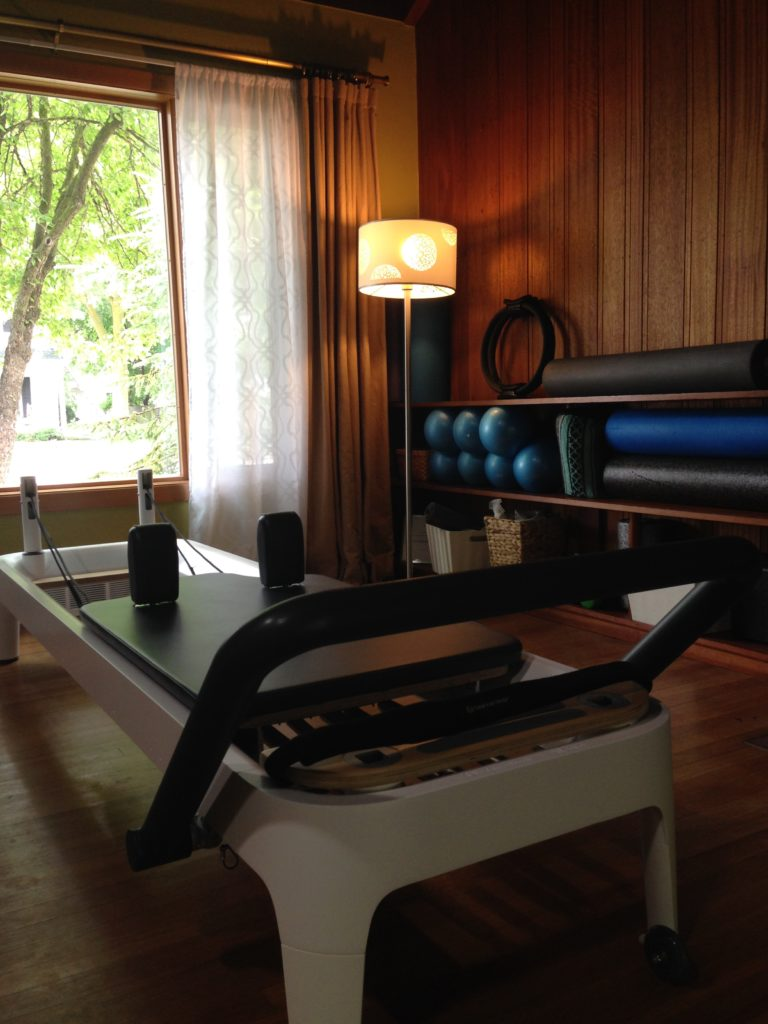 Work in a private studio setting for ease of mind and a focused Pilates session.